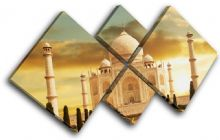 Taj Mahal Golden Landmarks - 13-0019(00B)-MP19-LO